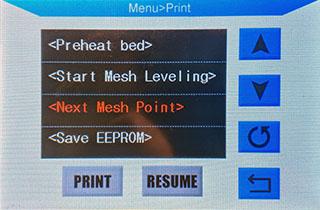Next mesh point