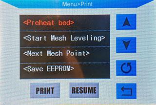 Preheat bed