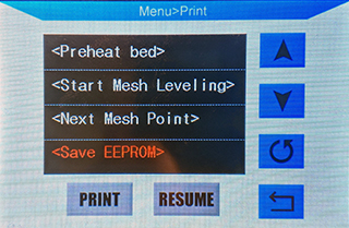 Save to EEPROM